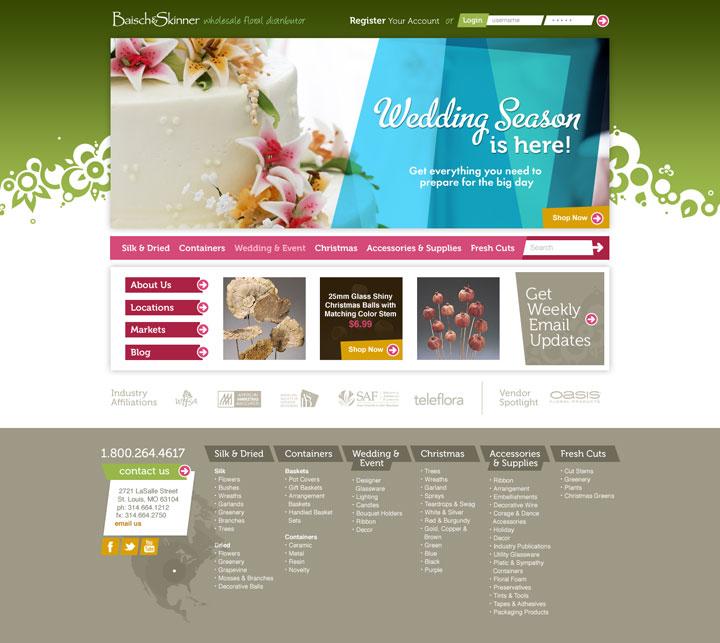 Baisch and Skinner web design