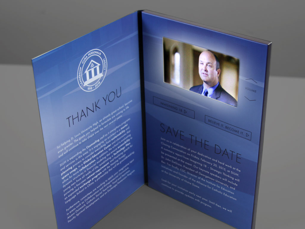 sluh mailer, logo design, graphic design