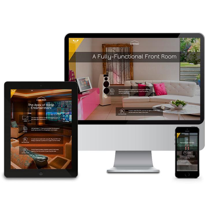 Walbrandt web design
