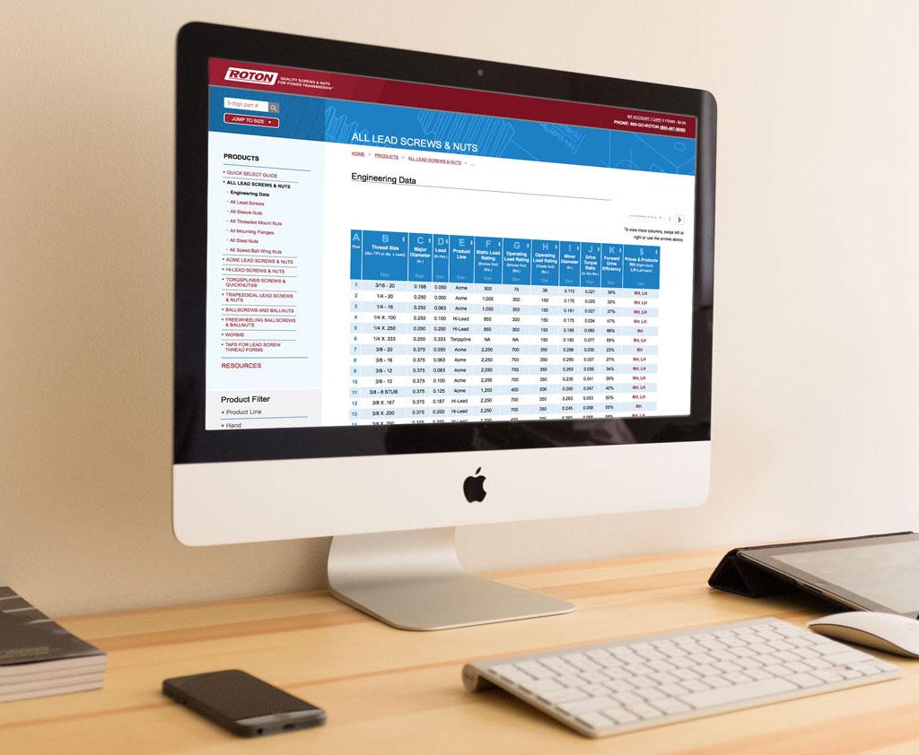 roton ecommerce web design