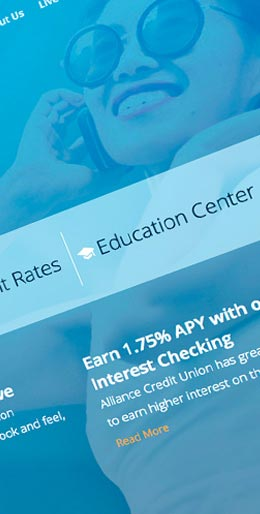 PNMG Web Design & Website Development, Alliance Credit Union