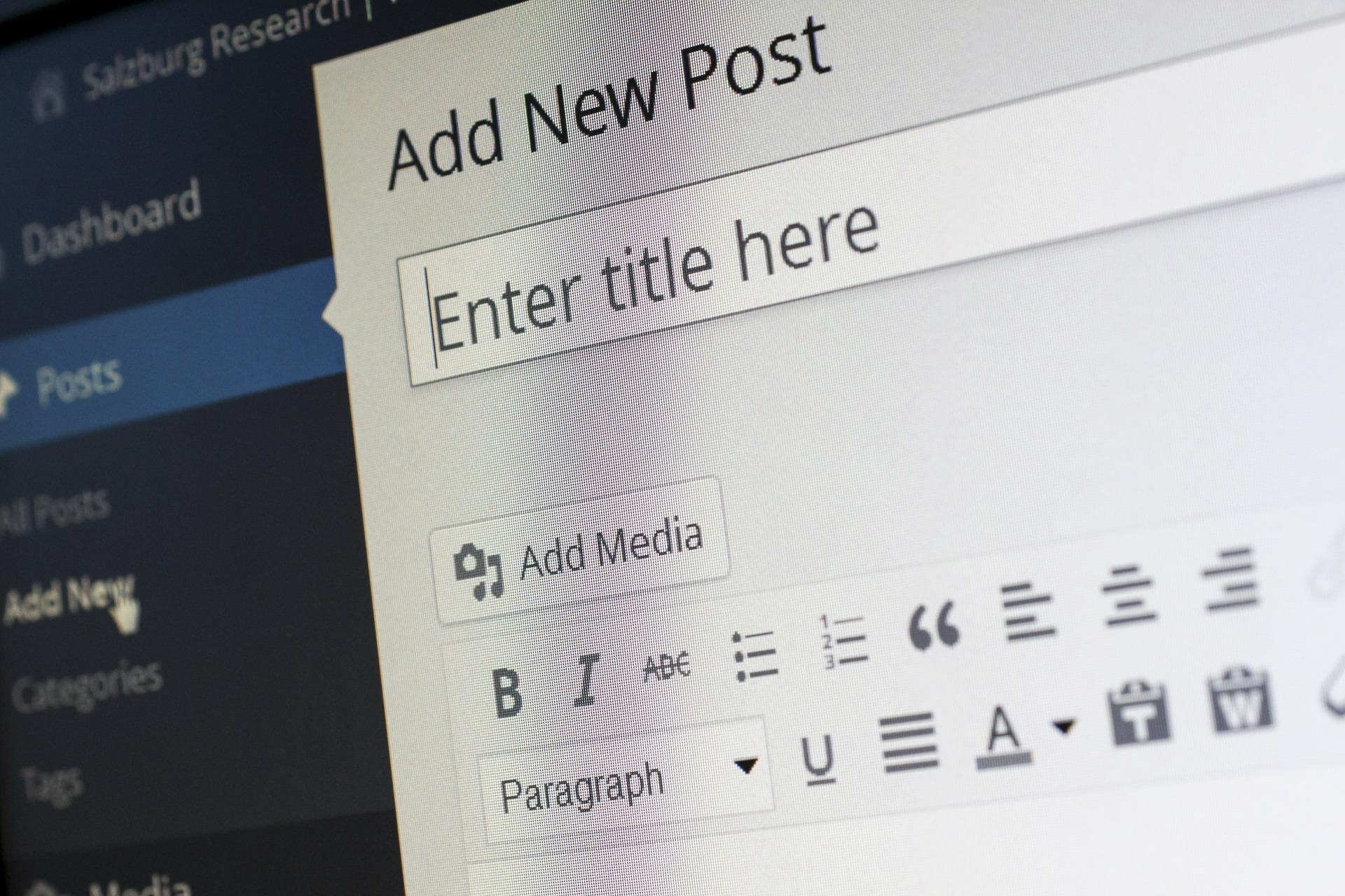 wordpress blogs