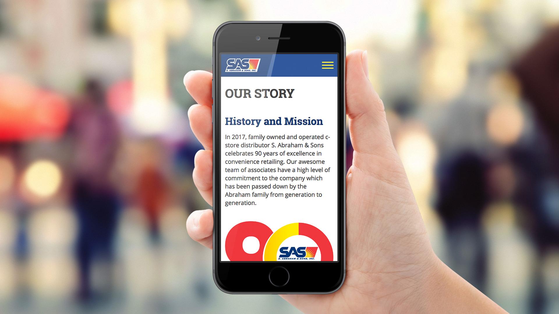 SAS responsive web design