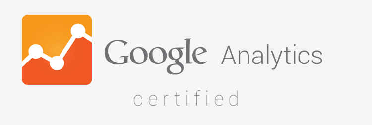Our inbound team is Google Analytics Certified