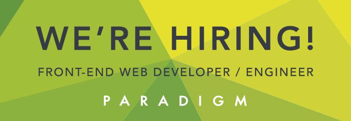 front-end web developer job st. louis, web developer st. louis