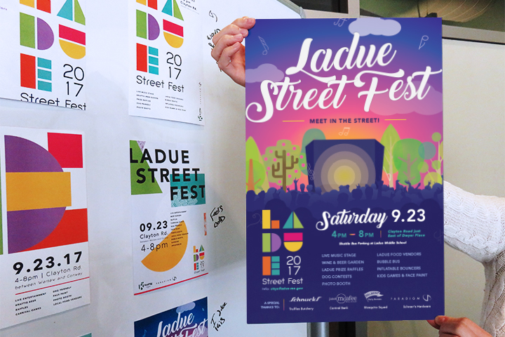 Ladue Street Fest concepts