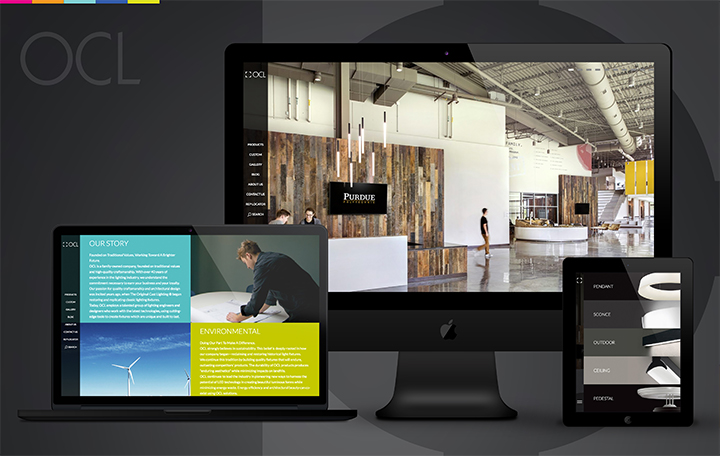 OCL responsive website design and development