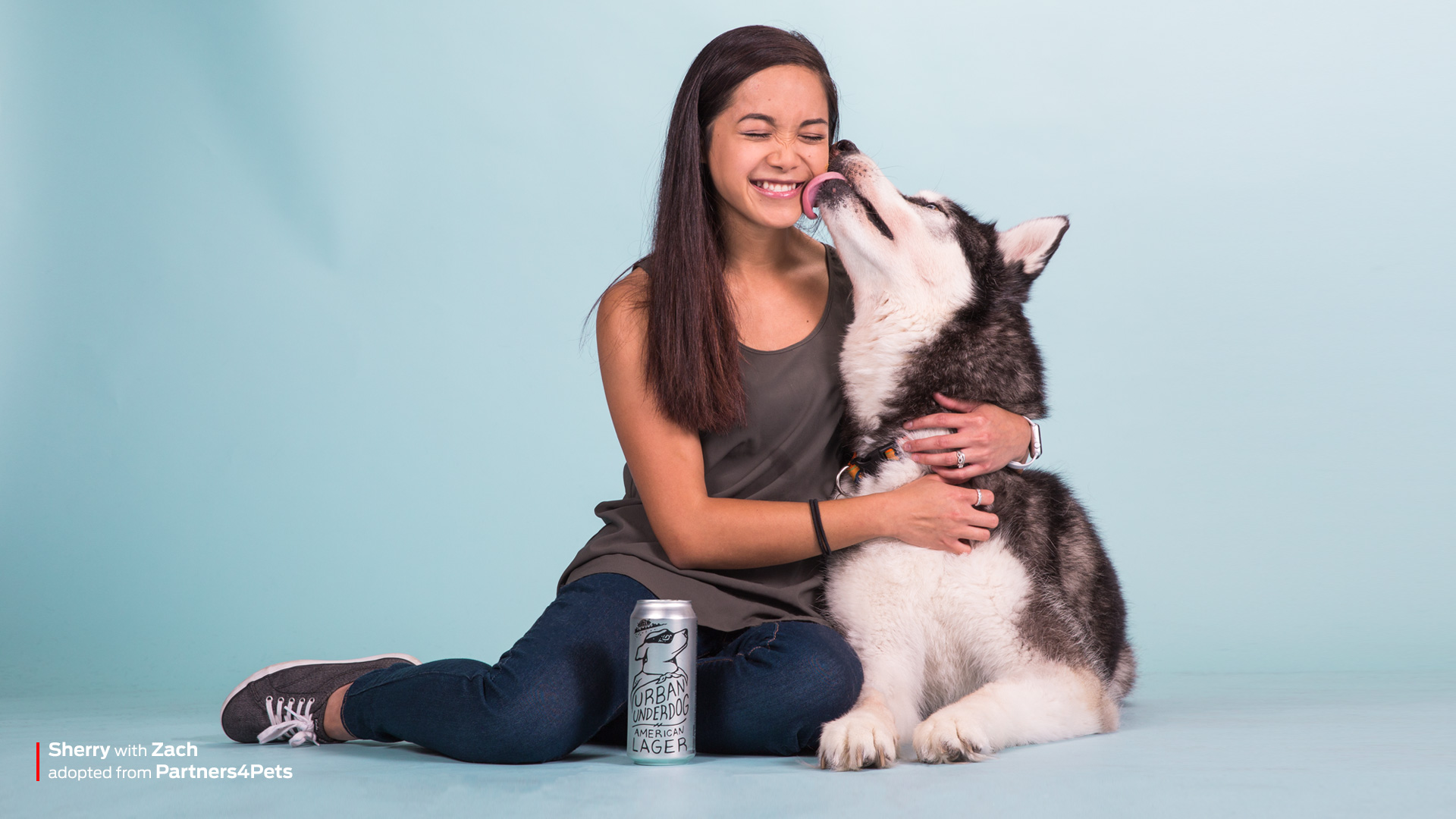 Photoshoot for Shelter Pet Event - Purina branding