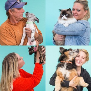 Our event marketing tactics included setting up a photobooth onsite to take each adopter's first family photo with their new pet.