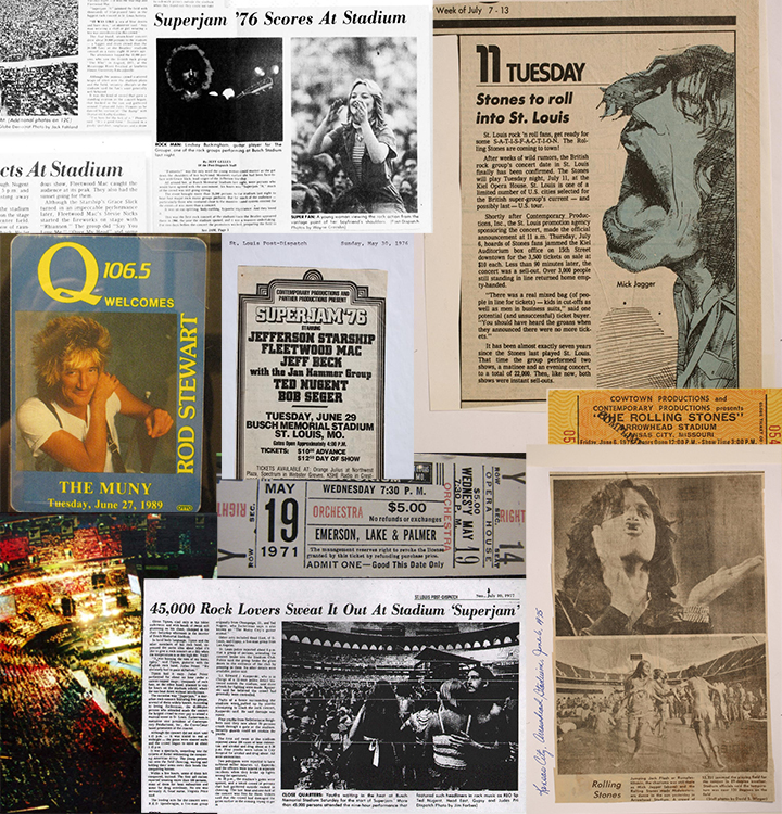 The Contemporary Productions site design took inspiration from rock-and-roll and large entertainment publications.