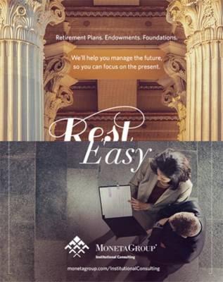 Moneta rest easy print ad campaign