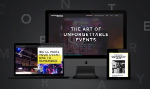 Website design and redevelopment to improve digital marketing efforts for Contemporary Productions, a St. Louis event planning firm.