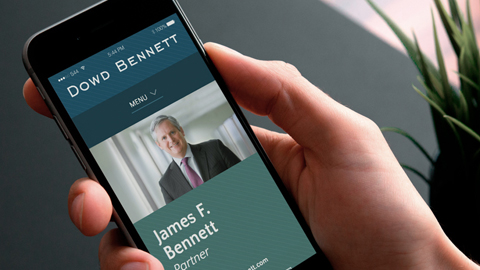 Paradigm recently worked with Dowd Bennett on a mobile-friendly website redesign.