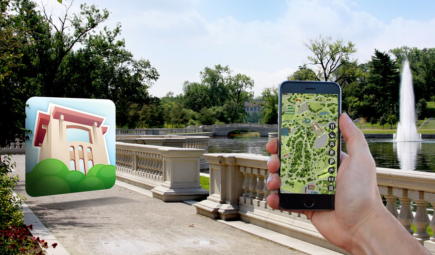 In developing the Forest Park mobile app, we created a user-friendly map that highlights the key locations and attractions throughout the park.