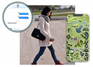 User journeys through the park were carefully considered during the mobile app development process.