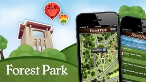 We provided mobile app development services for Forest Park, creating a mobile-friendly park map.