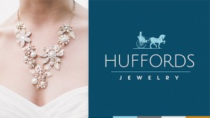 Our logo design work for Huffords Jewelry was featured in Logo Lounge 2017.