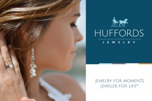 Referencing the company's rich history, our new logo design for Huffords Jewelry features the iconic horse and driver that had been a part of the brand mark for 30 years.