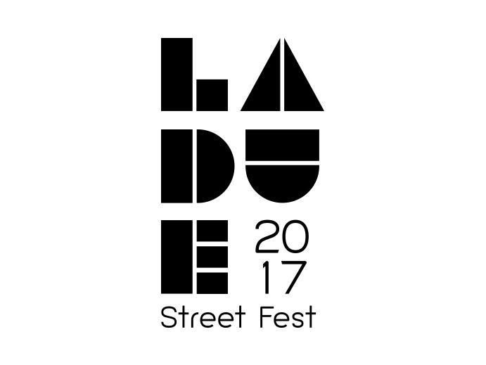 Laude Street Fest 2017 logo.