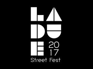 Laude Street Fest 2017 logo, option 2.