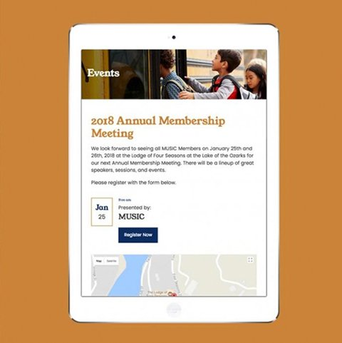 A new website design and single sign on integration for an not-for-profit insurance company, the Missouri United School Insurance Council.