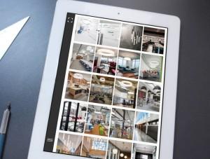 OCL tablet gallery design