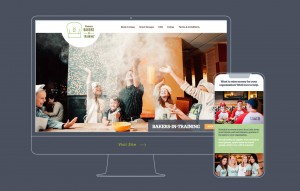 We designed a mobile-responsive landing page to promote Panera Bread Company's Bakers in Training events.