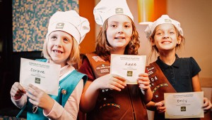 Panera Bread Company offers a Bakers in Training event.