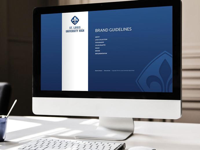 sluh logo design