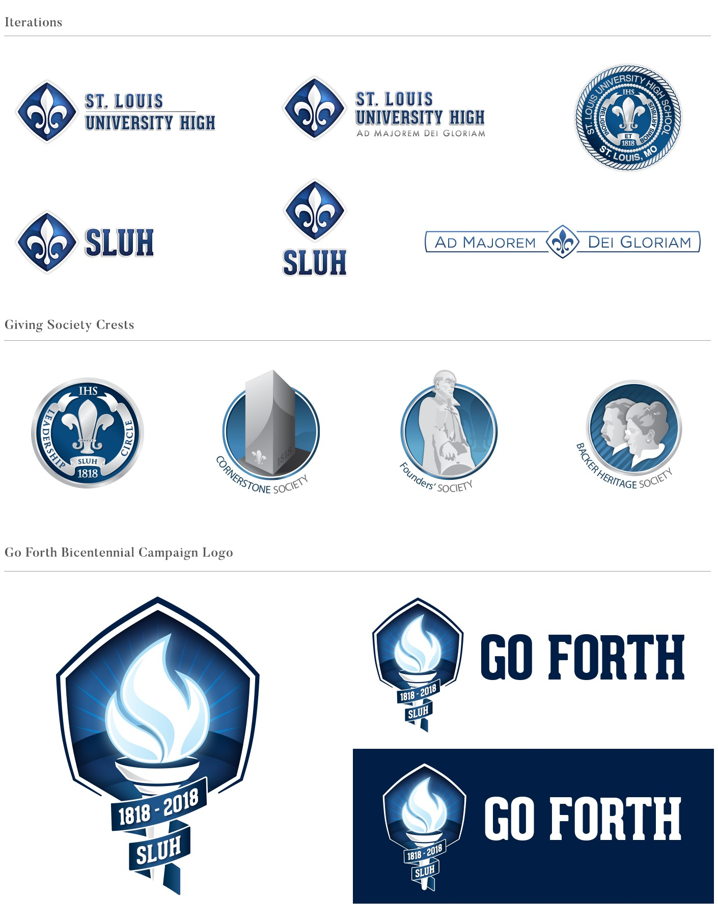 sluh branding and logo design
