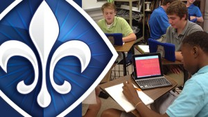 The new SLUH brand identity design included a refresh of the school's main logo.