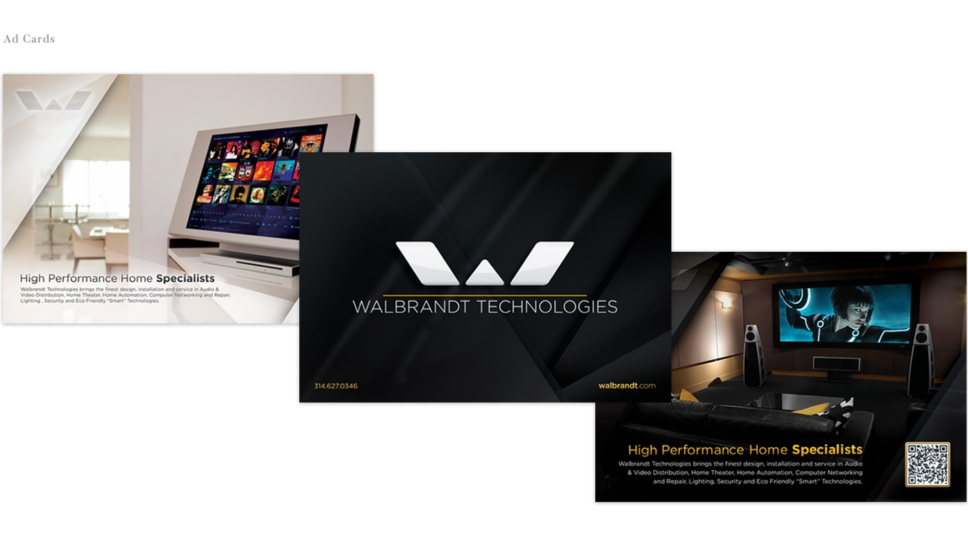 We also designed promotional collateral pieces to be handed out during events and tradeshows.