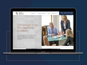 Branding, website design, and digital marketing strategies come together for a St. Louis law firm, Zevan Davidson Roman.
