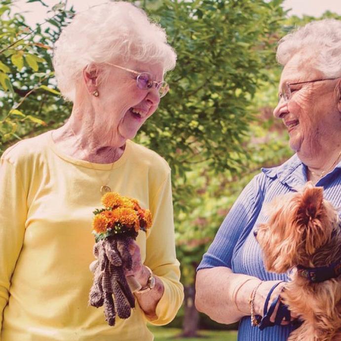 bethesda seniors gardening