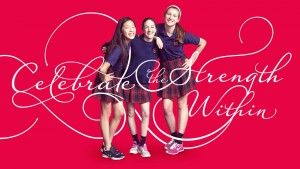 Brand development for Visitation Academy showed the ambition and drive of the girls who attend the schools.
