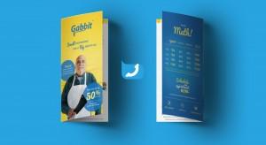 Gabbit brochure graphic design, collateral
