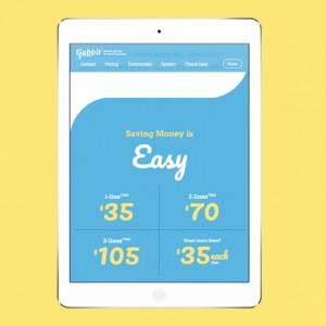 Gabbit mobile responsive website