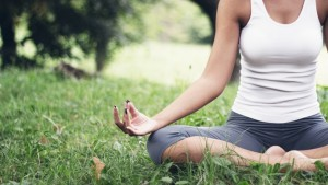 karuna meditating girl