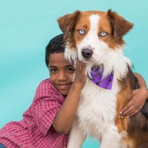 Purina adoption campaign photo shoot