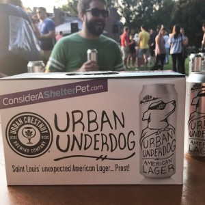 Our campaign aligned with the launch of the Urban Chestnut Brewing Company Urban Underdog beer, which fit seamlessly into our adoption campaign.