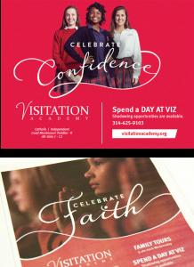 Visitation banner ad and print ad