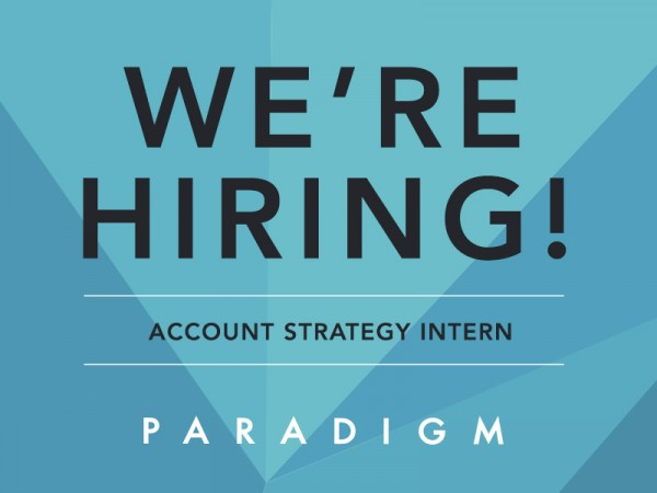 We're Hiring! Account Strategy Intern - Saint Louis Office