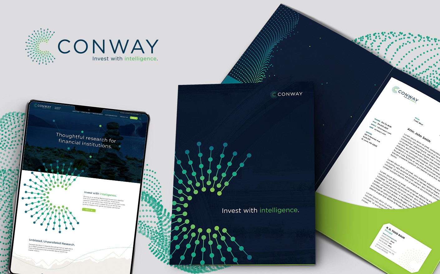Conway graphic design and web design
