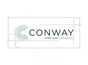 horizontal conway logo design