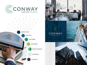 conway branding moodboard
