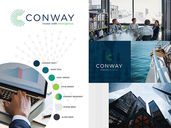 conway branding moodboard