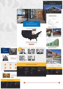 sunflower development web design page display