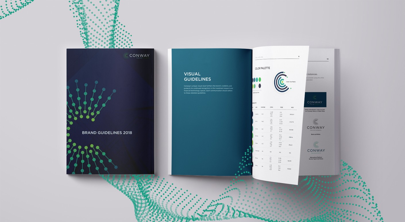 conway investment research brand guidelines