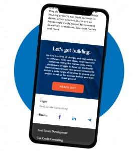 sunflower development mobile first messaging