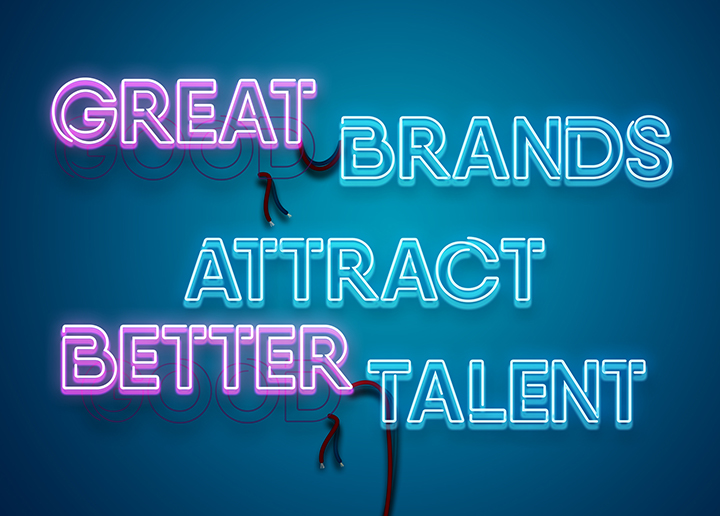 Great brands attract better talent.